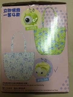 711 tsum tsum Elsa 愛莎 環保袋 購物袋 連匙扣 掛袋 吊飾(已折袋)