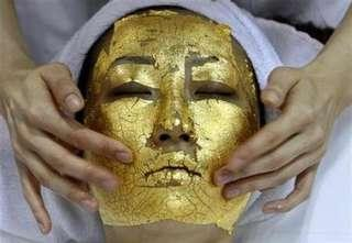 All in one gold face full treatment