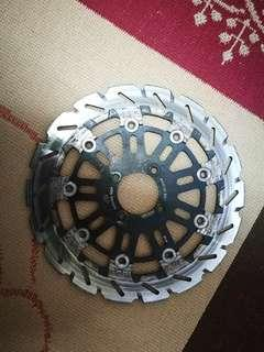 Racing boy Brake Disc floating suitable for yamaha LC135 / 125Z / Y15Zr Yteq Rim