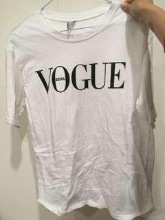 🚚 Vogue tee
