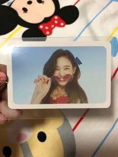 🚚 twice nayeon dance the night away photocard