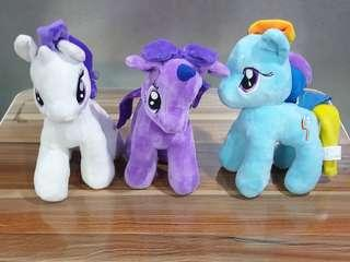 Magic My Little Pony Toys Princess Cadence Celestria Rainbow Dash Pinkie Pie Pony Plush Soft Stuffed Dolls