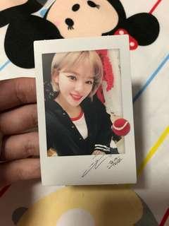 🚚 twice jeongyeon twicetagram photocard