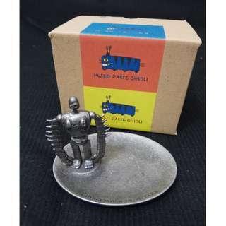 宮崎駿 天空之城 機器人 (三鷹之森吉卜力美術館 )夾子盤