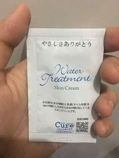 Cure Water Treatment Skin Cream Sample Size