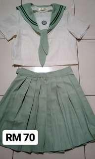 Green JK uniform.