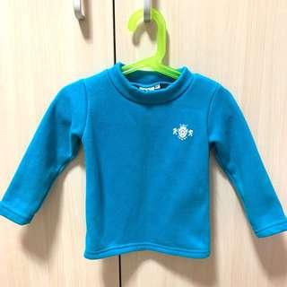 🚚 冬季幼童長袖刷毛上衣 尺碼5號 約2歲左右穿 保暖材質佳