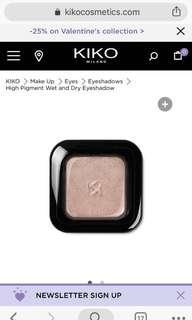 Kiko Milano High Pigment Eyeshadow