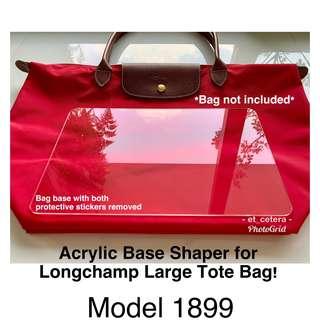 4d00742fff2 🌈VDAY SALE!😍 BN Acrylic Base Shaper Insert for Longchamp Le Pliage