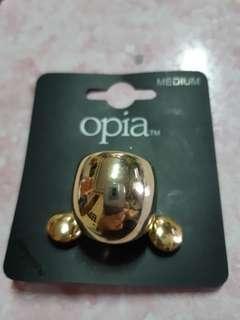 Opia ear ring & ring set (medium size)