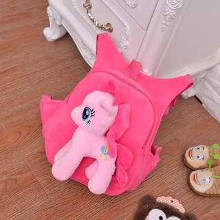 My Little Pony Bag for kid Boys and Girls, Blue and Pink Color