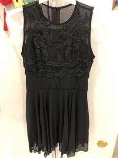 Doublewoot black embellished dress