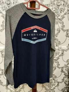 Quicksilver long sleeve T shirt
