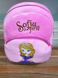 Cute backpack for kid boys and girls - Poli, Sofia and Little Pony