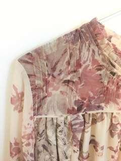 WILFRED floral shirt