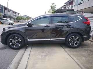 New CRV 1.5 Turbo Charge 2019 Shah Alam | Klang | Damansara