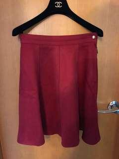 日本 Lily Brown dress skirt 半截裙 red 新年 賀年