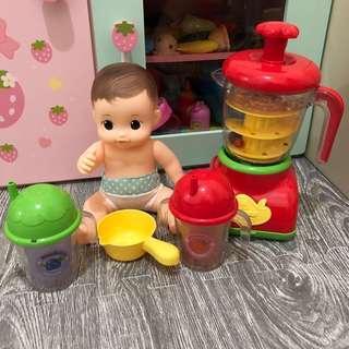 🚚 正版授權 小荳娃娃 可可沐浴果汁機