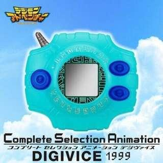 全新 電波暴龍機 Digivice C.S.A.1999ver.