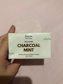 Luxcrime Mud Mask Charcoal Mint