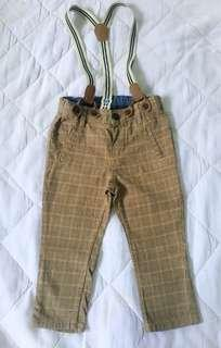 H&M Trousers with Suspender size 6-9m (Runs Big)