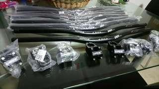 Handlebar and stem Wake $25 only! Hurry up! Until supplu last