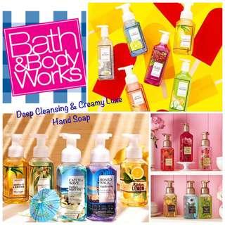 🚚 BATH & BODY WORKS - Deep Cleansing, Creamy Luxe & Decorative Hand Soap