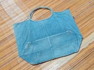 M&C Retro Denim Tote Bag