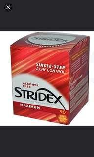 🚚 Stridex Acne Control 90 Pcs