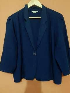 #FREEONG blazer blue