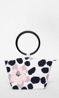 🚚 Love Bonito Alexa Circular Handle Mini Bag - White