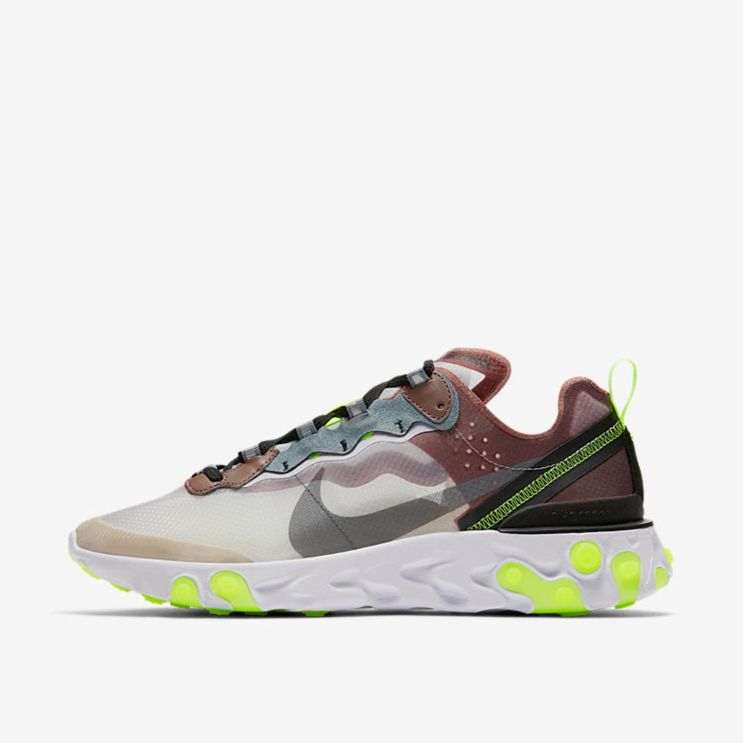 6a89c70f 🔥 In Stock🔥 US6.5/8/9.5/10/11 Nike React Element 87 Desert Sand ...