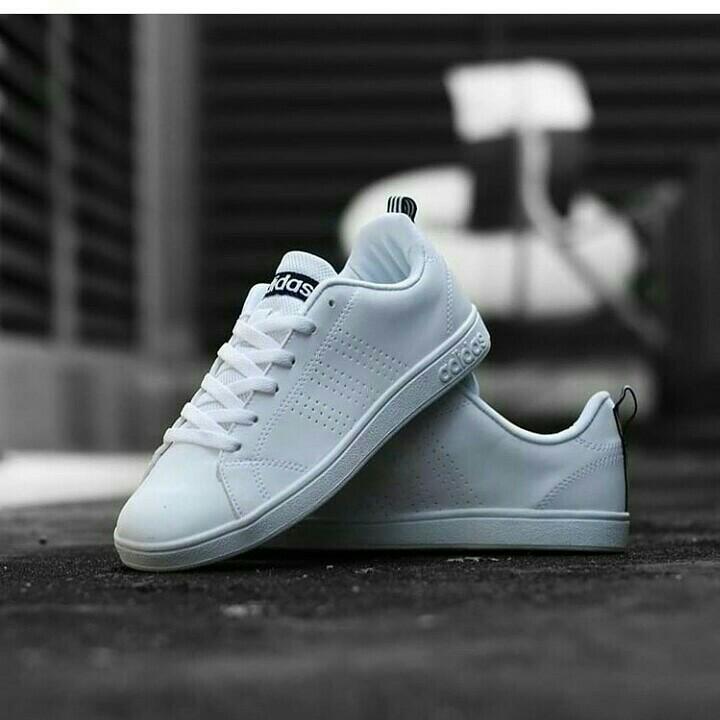 Adidas CF Neo Advantage White List Navy Original Indonesia ...
