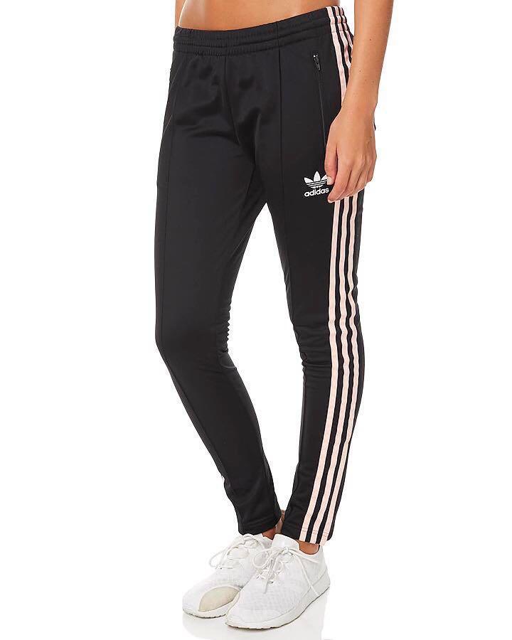 d53b15a8a415f Adidas Original SST TP Black Noir Pants Pantalon