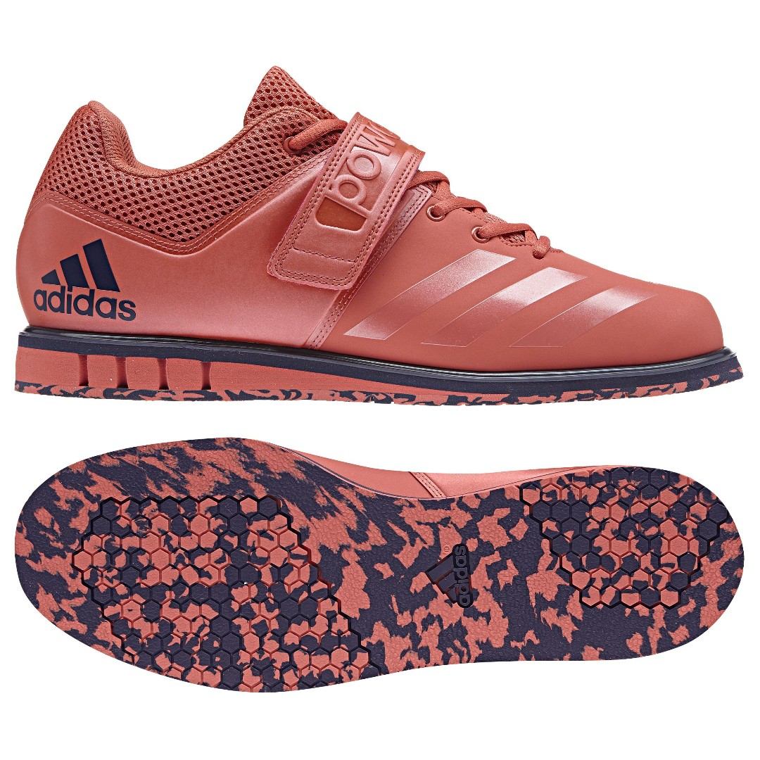a02683a82757 Adidas Powerlift 3.1 Shock Red Weightlifting Shoes