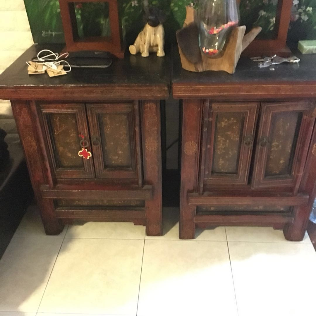 Chinese Side Table.Antique Chinese Side Tables Furniture Tables Chairs On Carousell