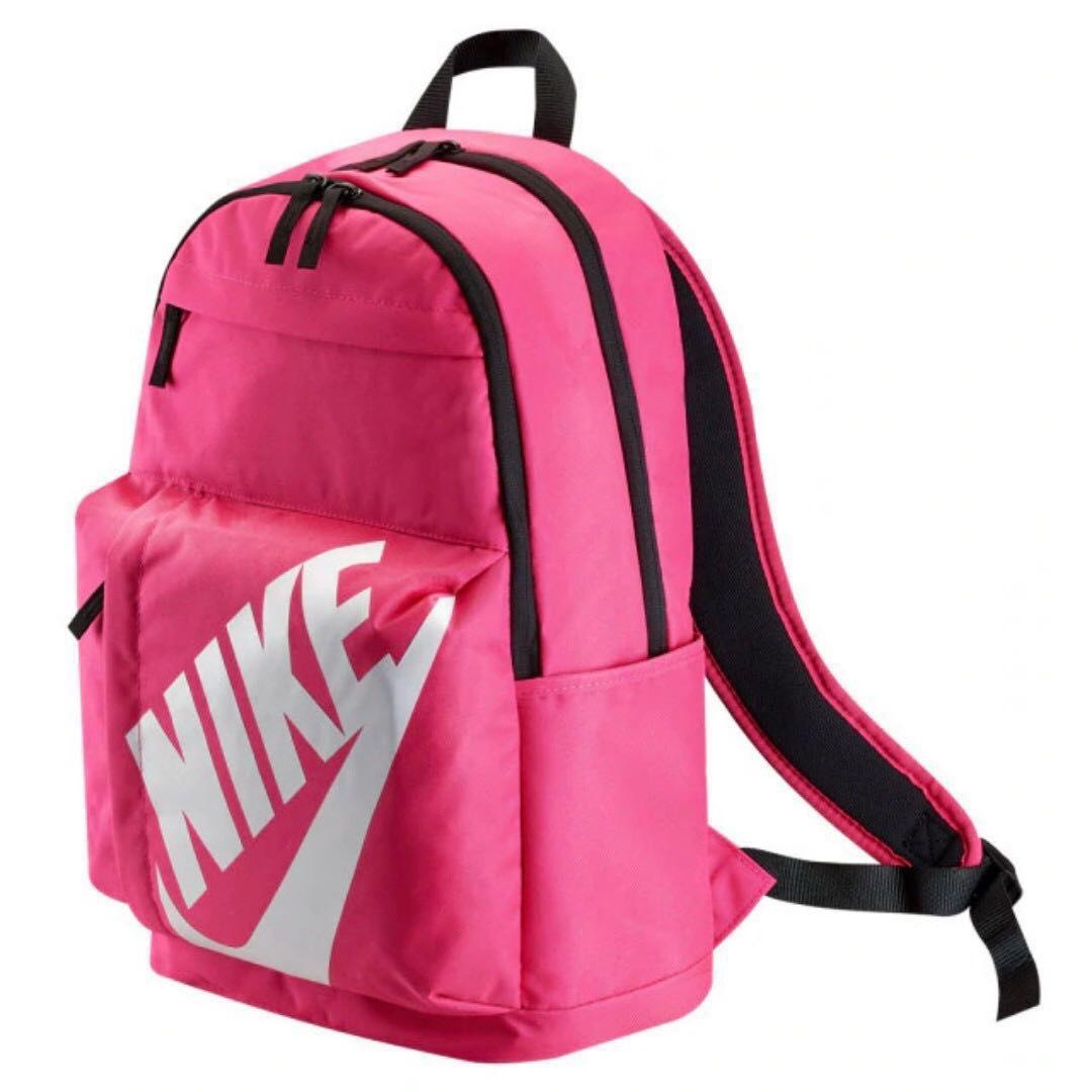 38e5f8e80163 Authentic NIKE Sportswear Elemental Backpack Pink Laptop Outdoor ...