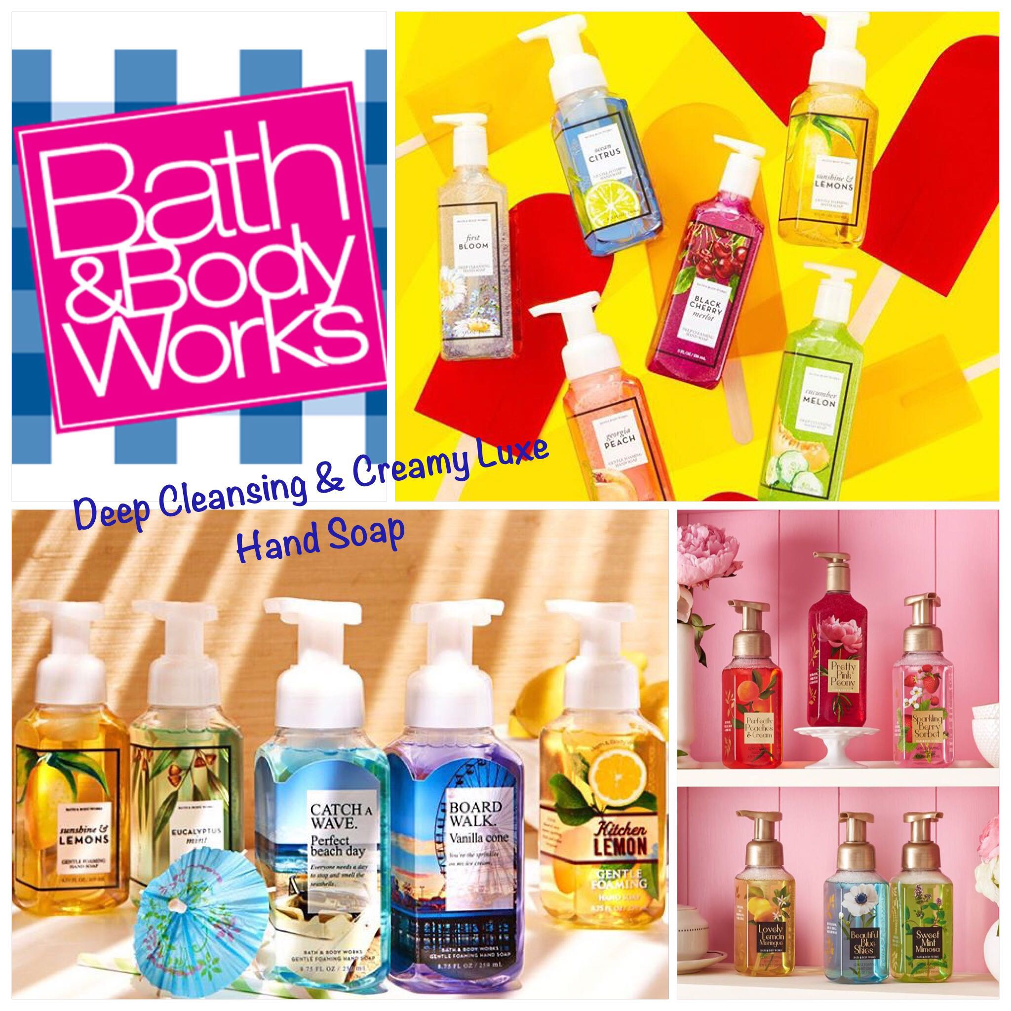 Bath Body Works Deep Cleansing Creamy Luxe Decorative Hand