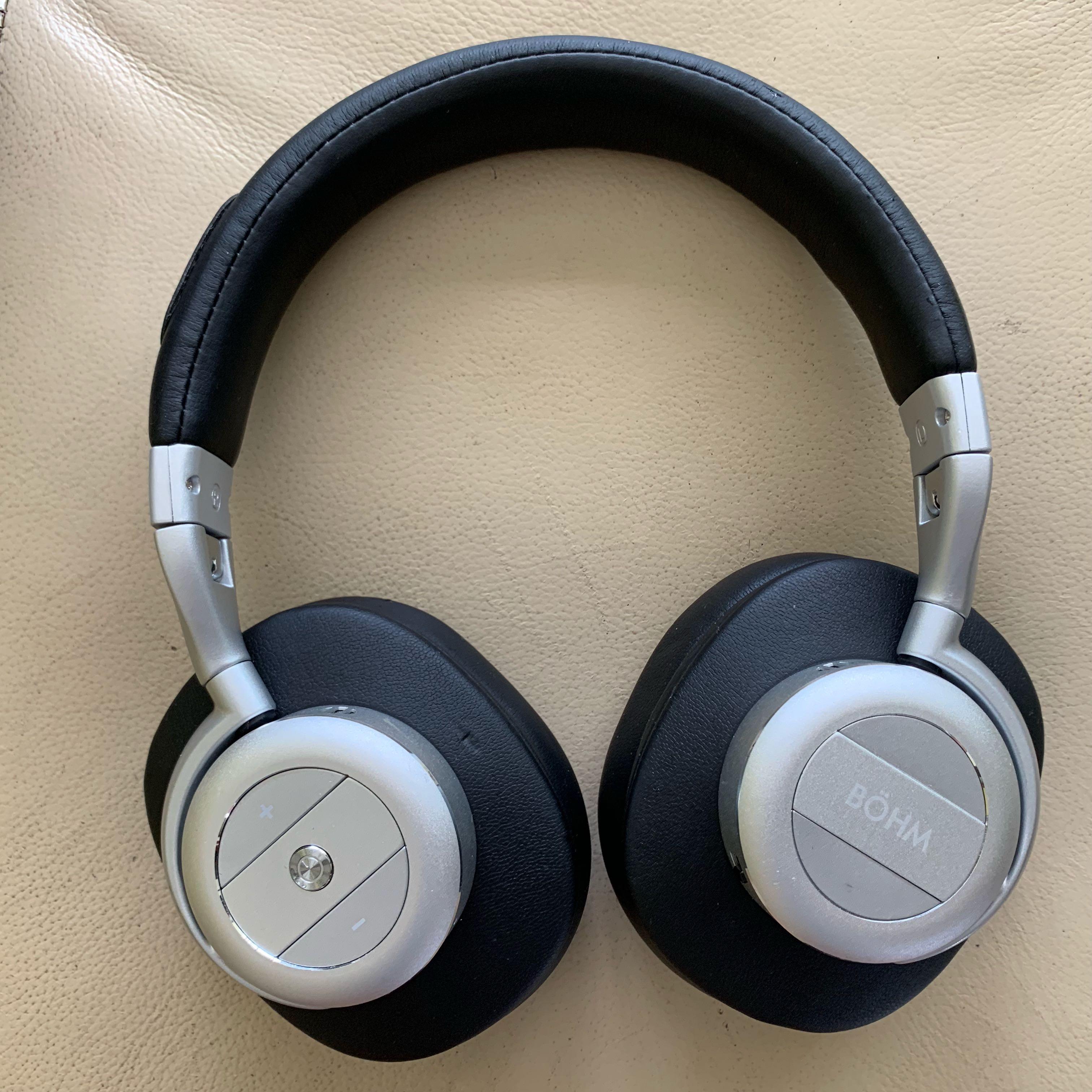 ea509185c68 BÖHM / BOHM B76 Wireless Active Noise Cancelling Headphones, Electronics,  Audio on Carousell
