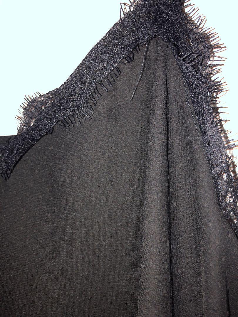 Black Zara lace Cami