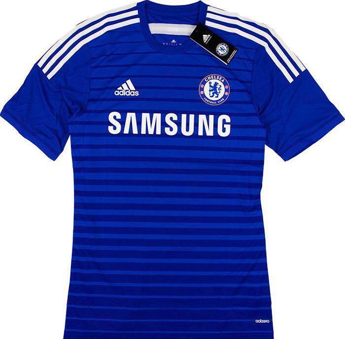 29fab471b BNWT  Chelsea 2014 15 Adizero Player Issue Home Jersey
