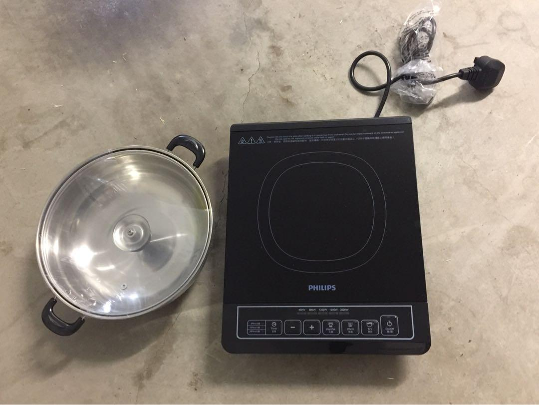 Brand new induction cooker with complimentary pot
