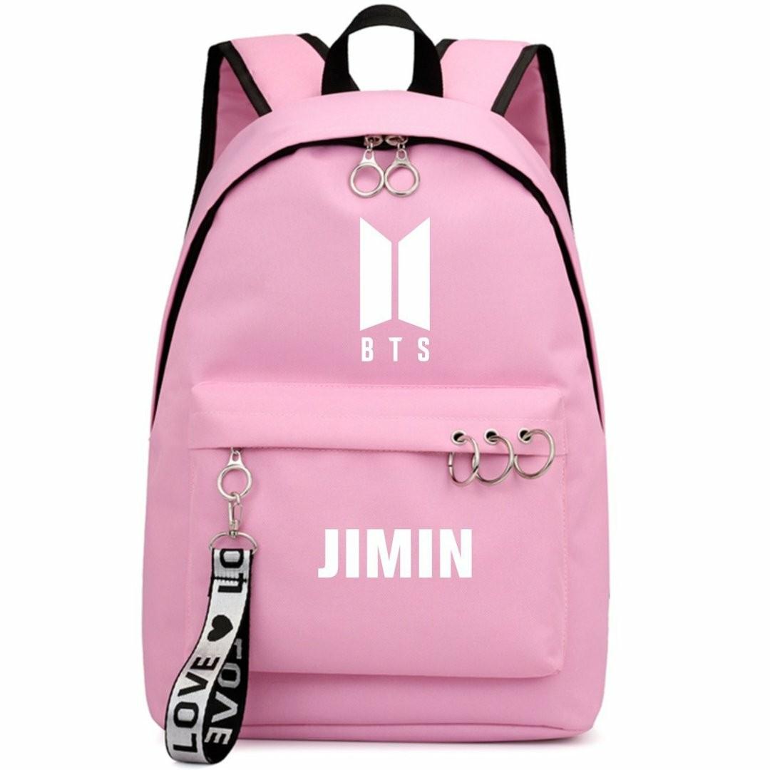 0a670a9b40b11 Black And Pink School Bag