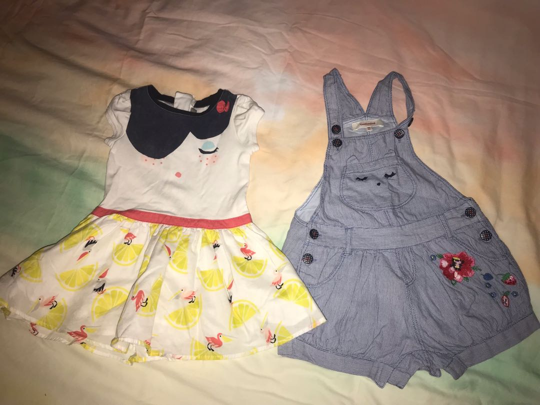 2f5aeadf5 Catimini French brand dress and jumpsuit 12 months