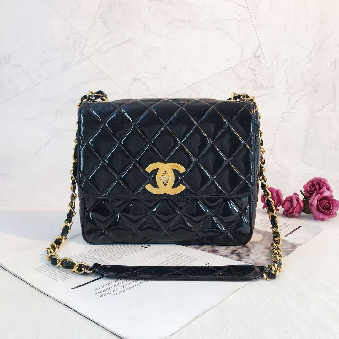 c4554a0df3d897 Chanel Big CC Square Flap, Luxury, Bags & Wallets, Handbags on Carousell