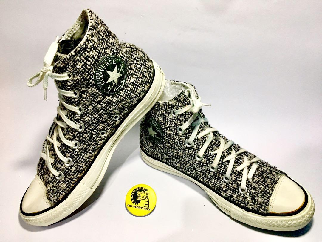 3cc18c0d79b7 Converse Limited Edition All Star Hi Canv Textile Ltd Sneakers Women Black