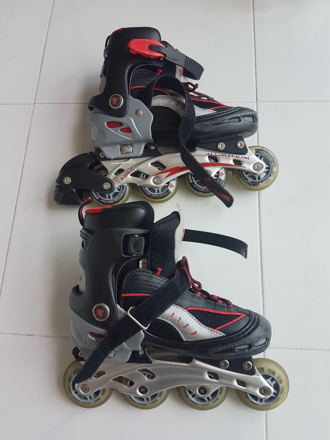 f04fb7ce5f3 Cougar In-Line Skates, Sports, Sports & Games Equipment on Carousell