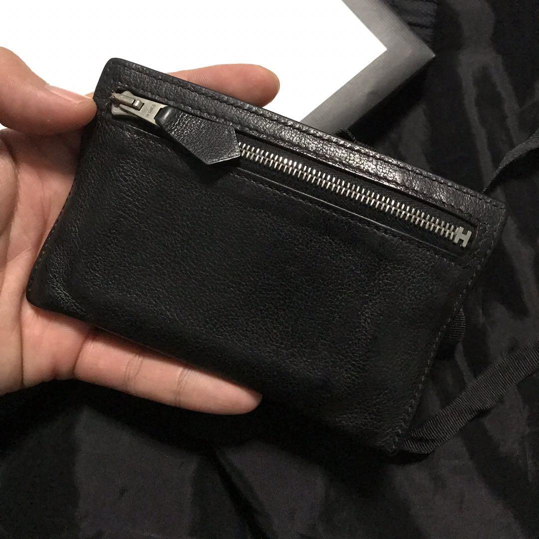 14ecbb2bd1 FD 200 Auth Hermes Double Zipper Card Holder / Wallet, Luxury, Bags ...