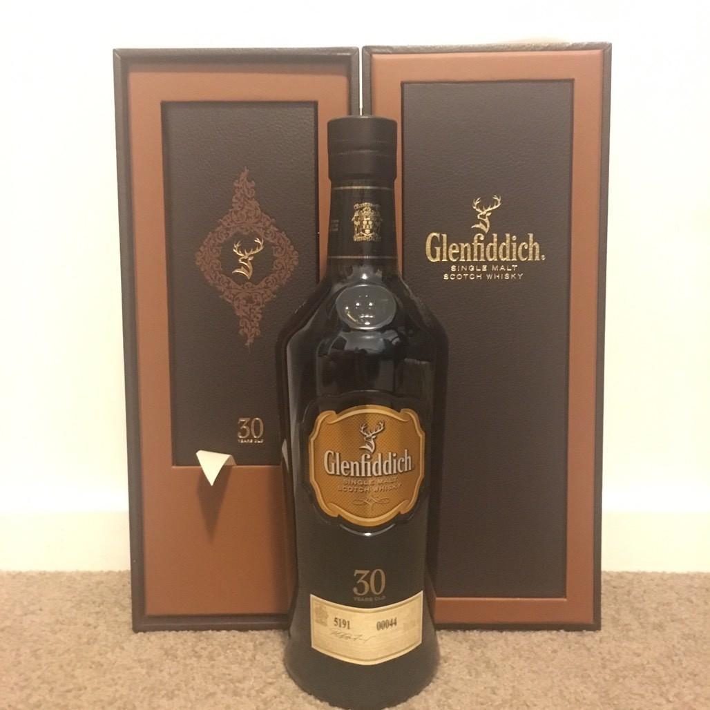 Glenfiddich 30 Single Malt Scotch Whisky