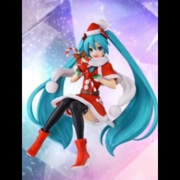 Hatsune Miku Christmas 2018.Hatsune Miku Series Special Premium Figure Christmas 2018
